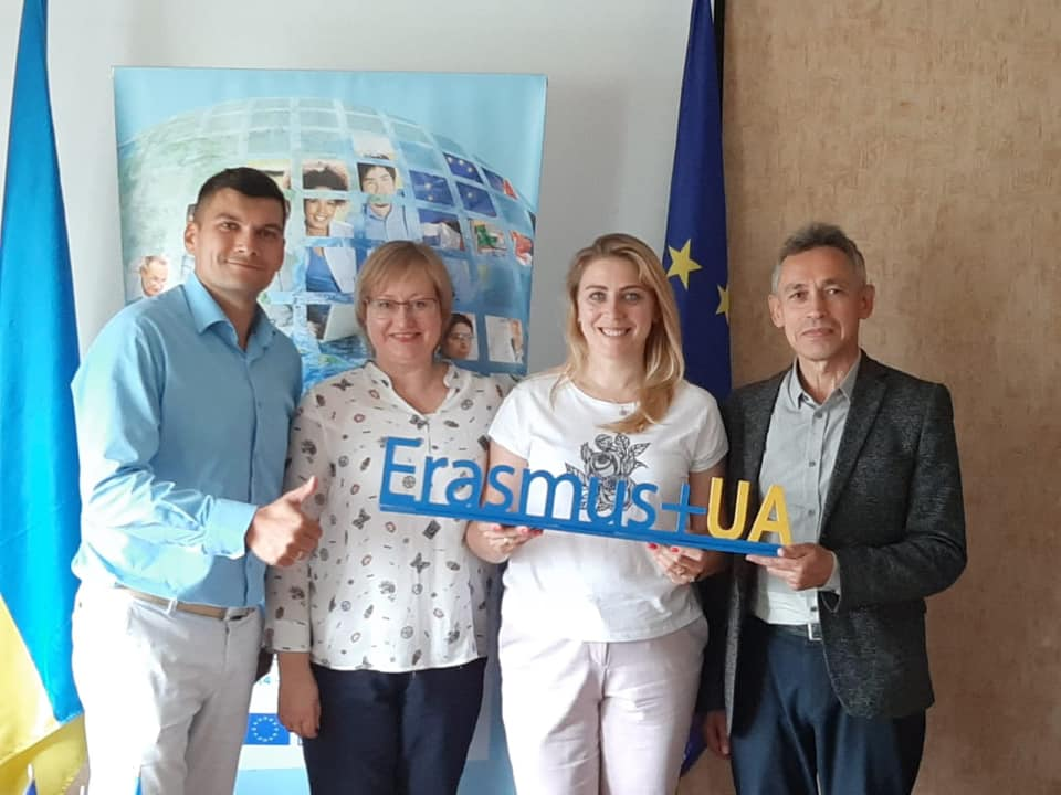 Meeting with Erasmus+ national office team