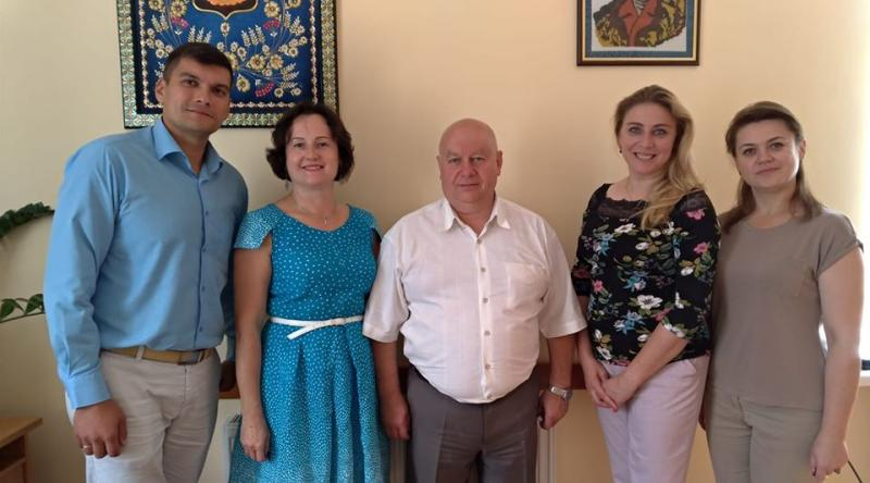 Meeting with administration of Ovruch Community