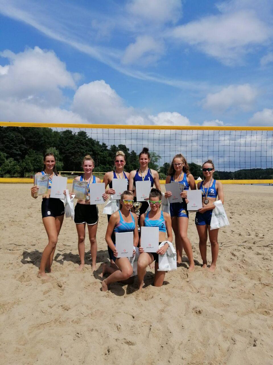 Агенція GOODWILL долучилась до організації змагань з пляжного волейболу серед жіночих команд (сезон 2021 р.)