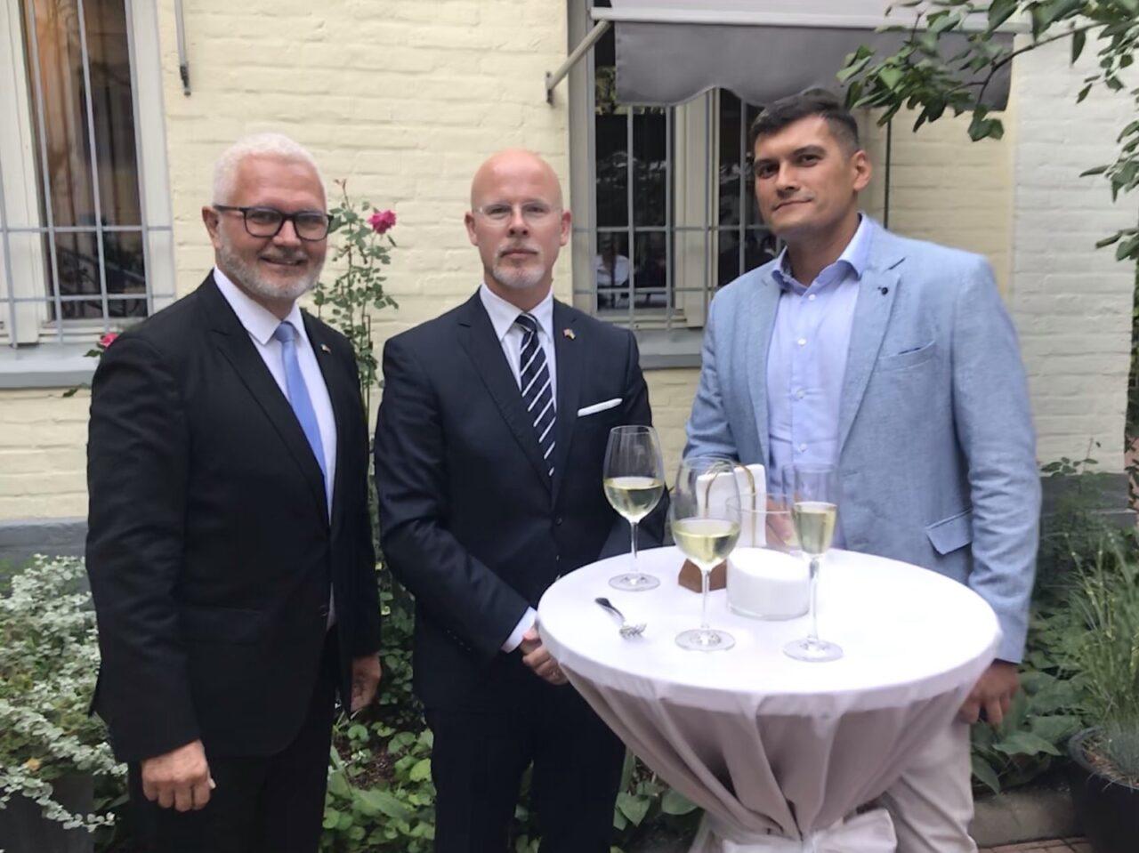 Офіційний прийом у посольстві Королівства Норвегія присвячений Дню незалежності України